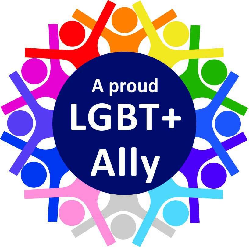 LGBT+ Allies Network logo