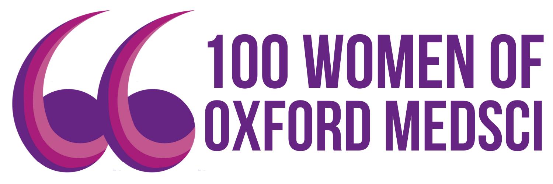 100 Women of Medsci logo