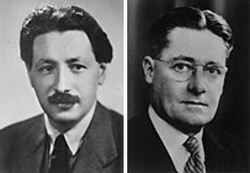 Ernst Chain and Howard Florey